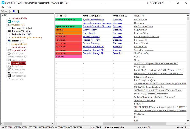 Azorult malware analysis