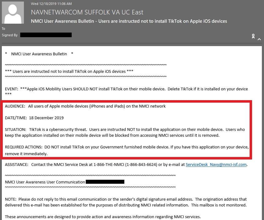 Naval Network Warfare Command user awareness bulletin