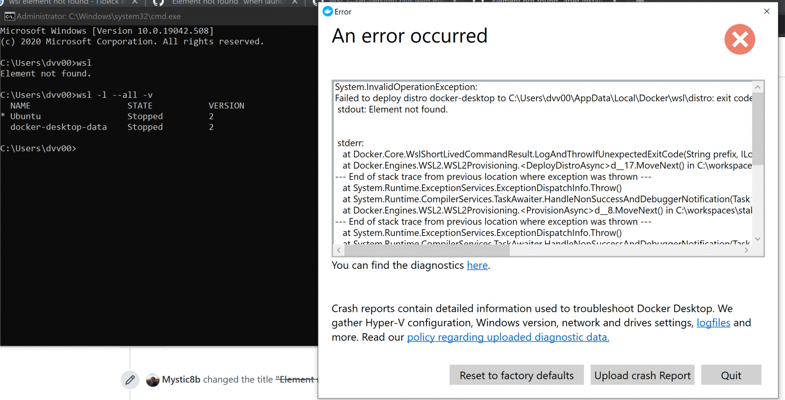 Windows 10 2004 Kb4571756 Breaks Windows Subsystem For Linux 2