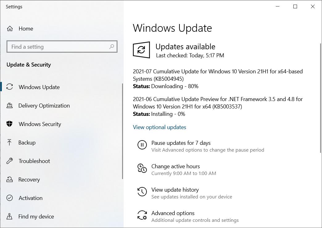 PrintNightmware OOB security update