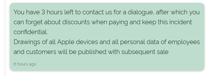 Quanta payment page chat