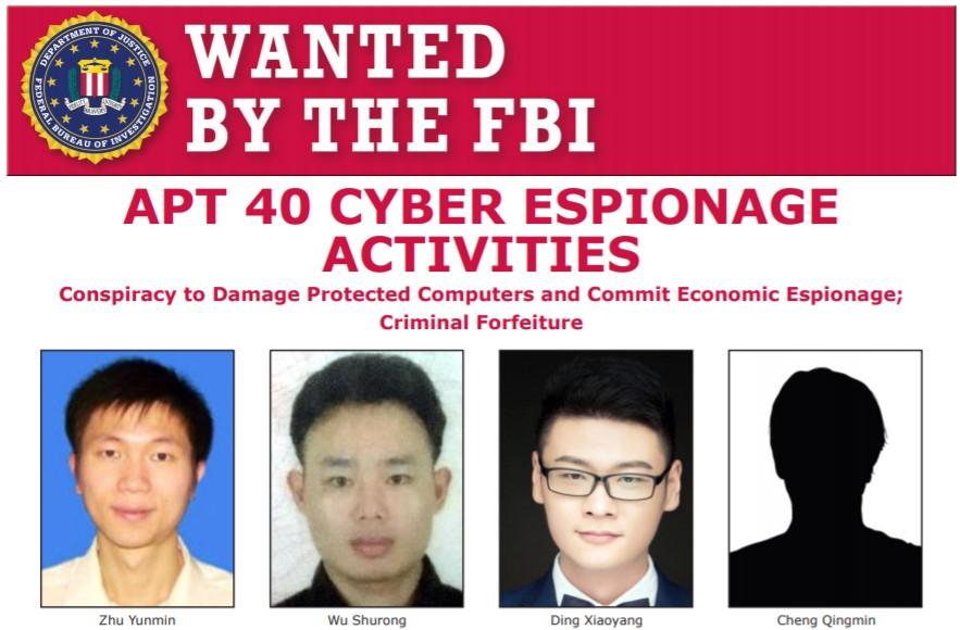 APT40 operatives indicted by US DOJ