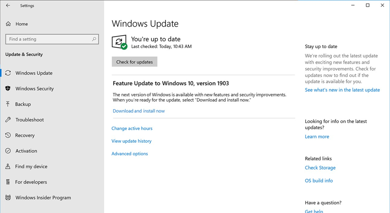 The Different Types of Windows 10 Updates