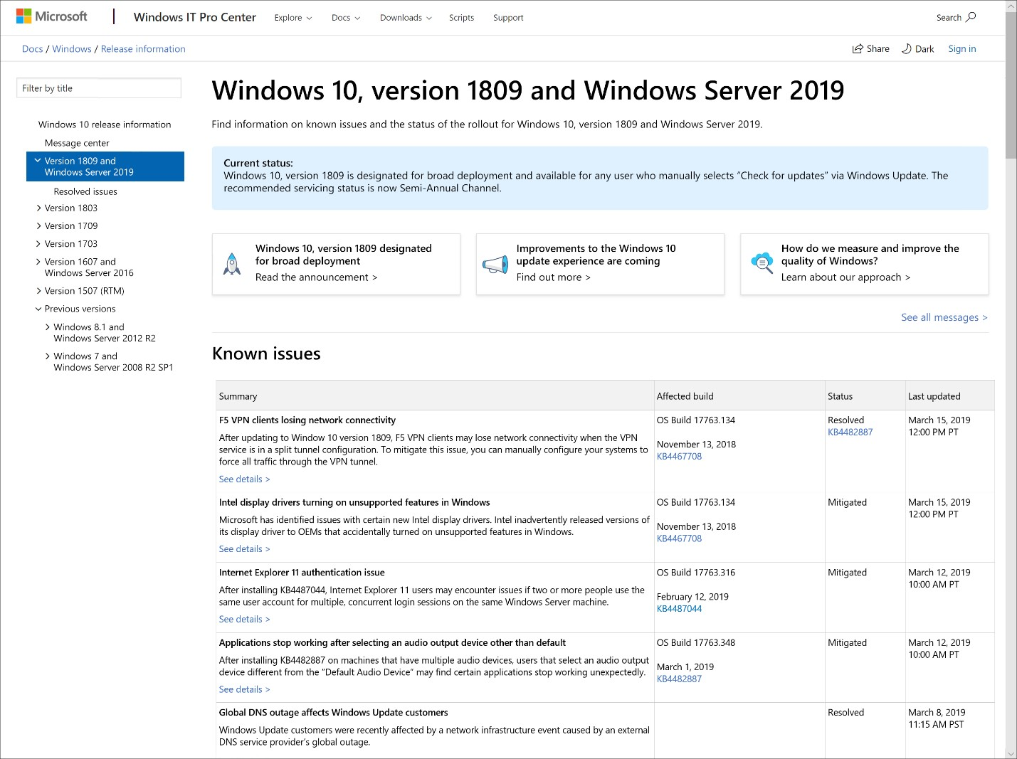 Microsoft Is Redesigning the Windows 10 Update Experience