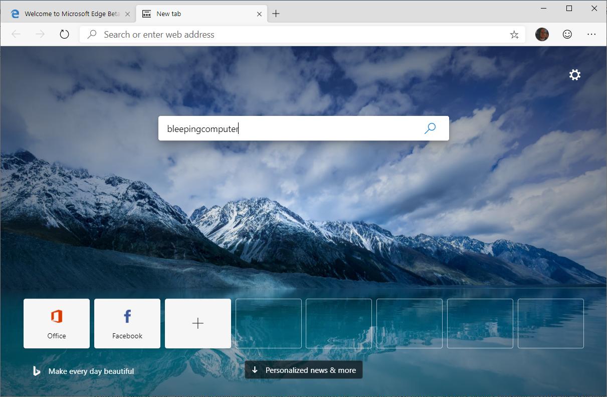 Microsoft Releases First Chromium-Based Microsoft Edge Beta