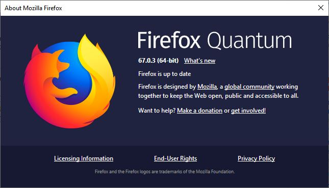 Mozilla Firefox 67 0 3 Patches Actively Exploited Zero-Day