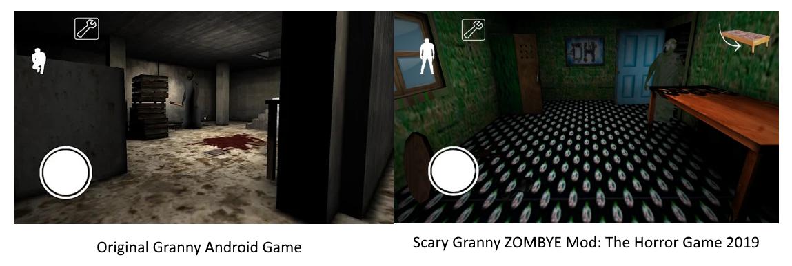 Granny vs Scary Granny ZOMBYE Mod