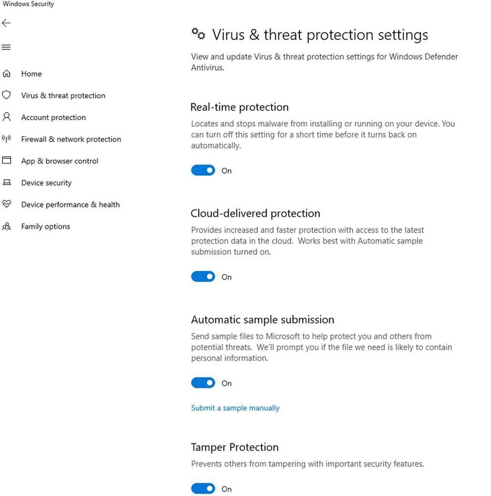 Microsoft Defender ATP Adds Tamper Protection