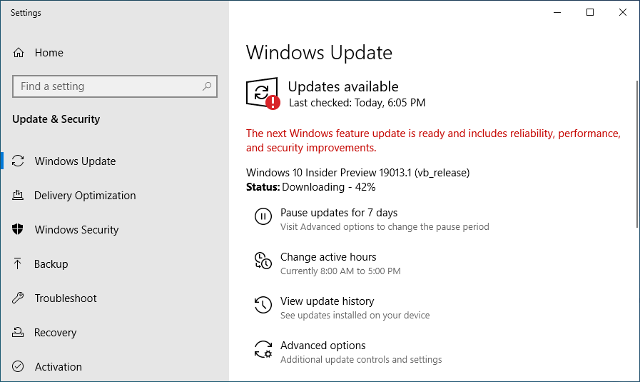 Windows 10 Build 19013 Out With New DirectX 12 Features for