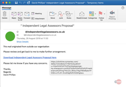 Hacked SharePoint Sites Used to Bypass Secure Email Gateways