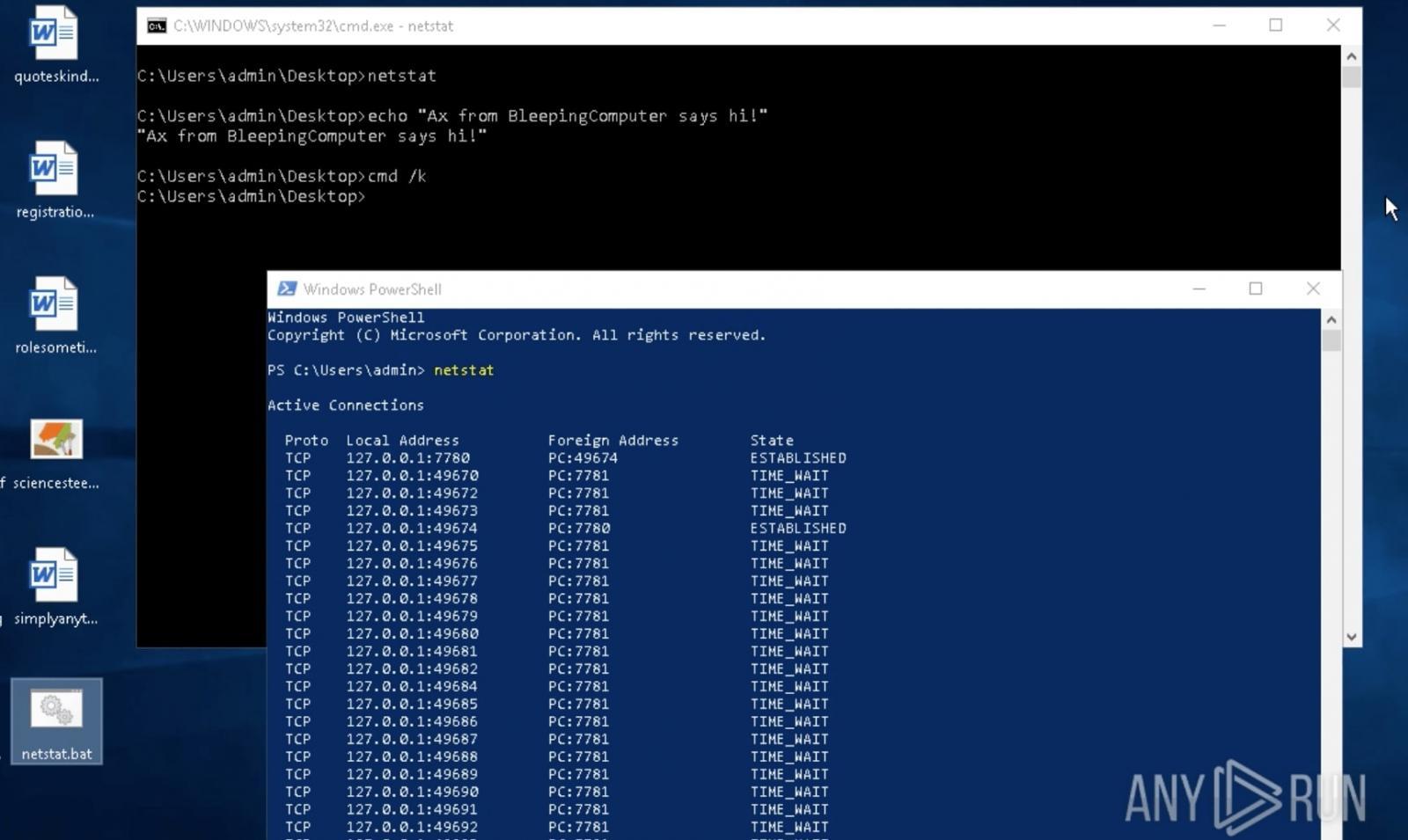 测试Windows PATH查找
