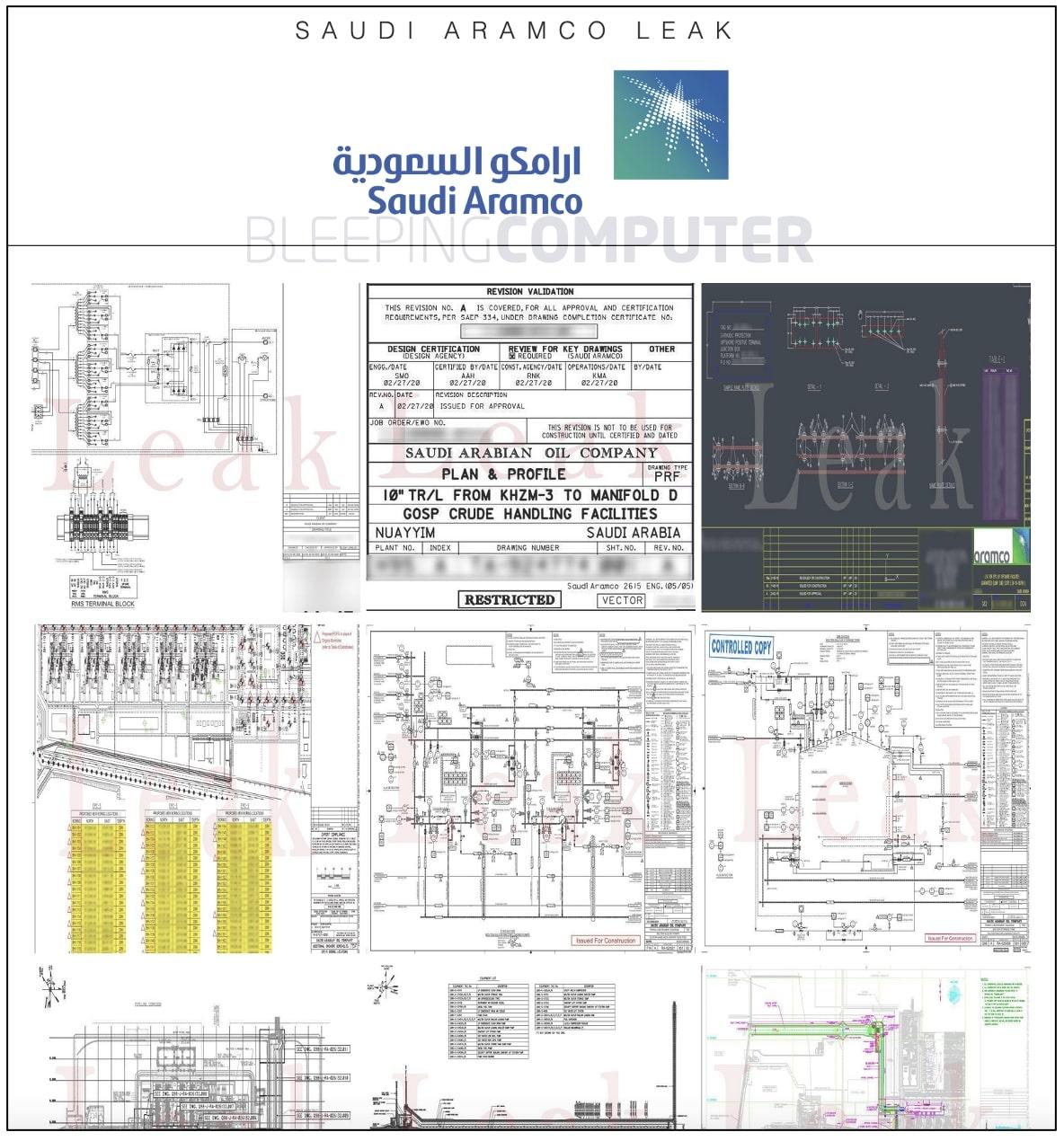 saudi aramco leak site