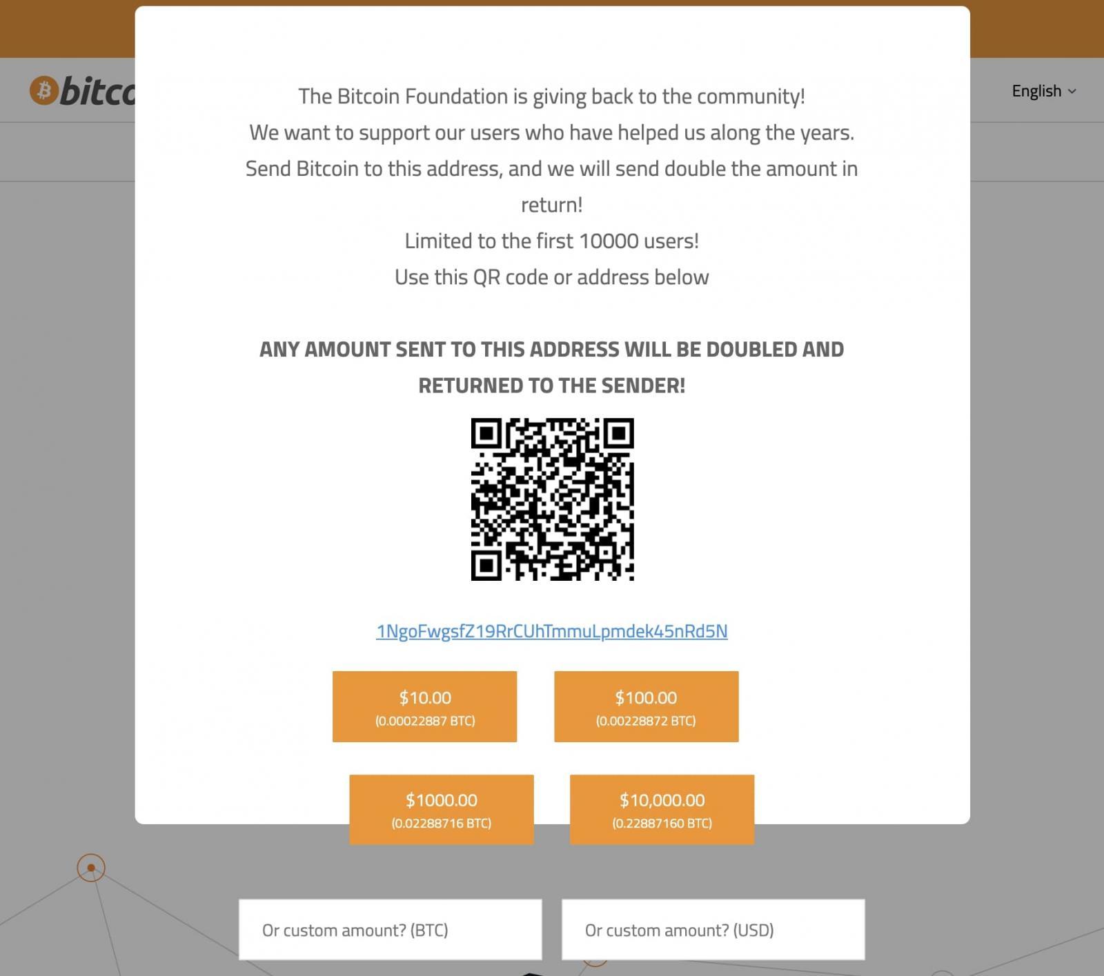 bitcoin.org hacked