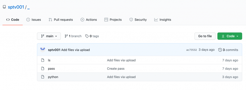现已删除的托管gitpaste-12第二版本的GitHub存储库sptv001
