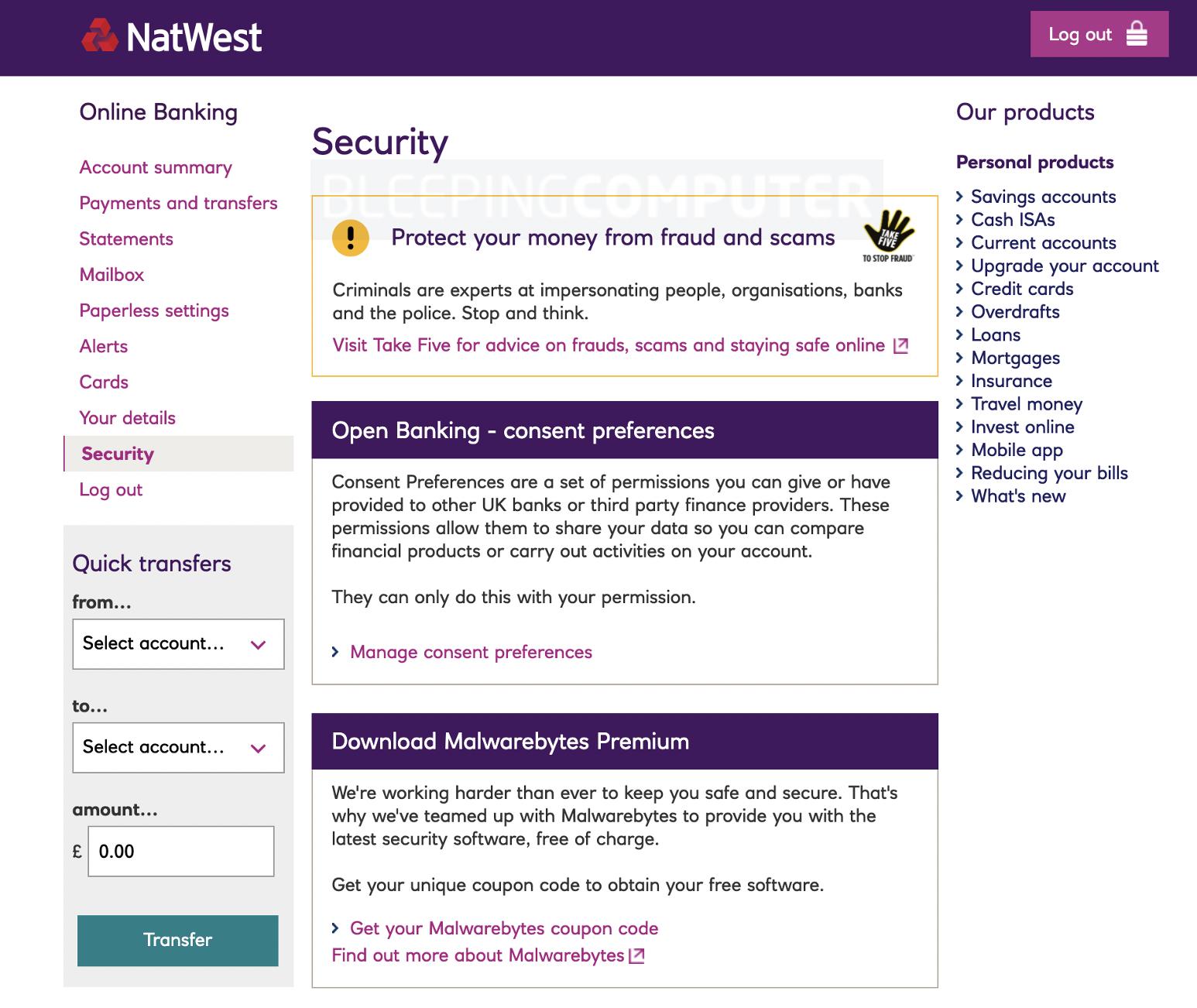 natwest free malwarebytes offer