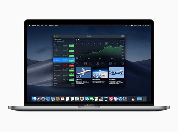 New macOS Stocks app