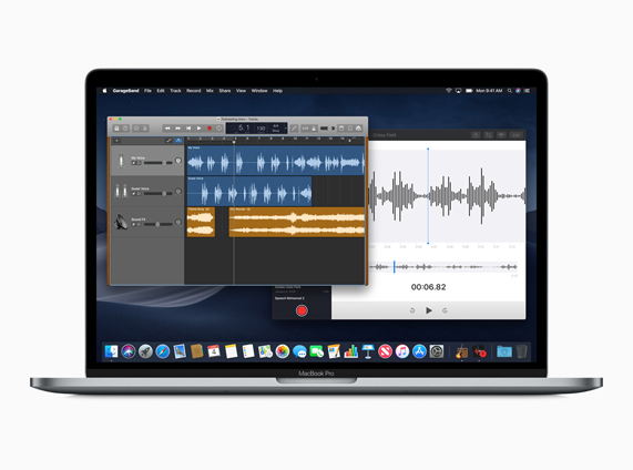 New macOS Voice Memos app