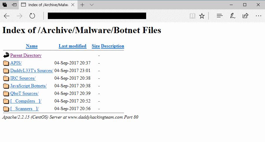 Malware repo