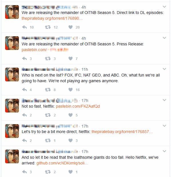 TDO tweets