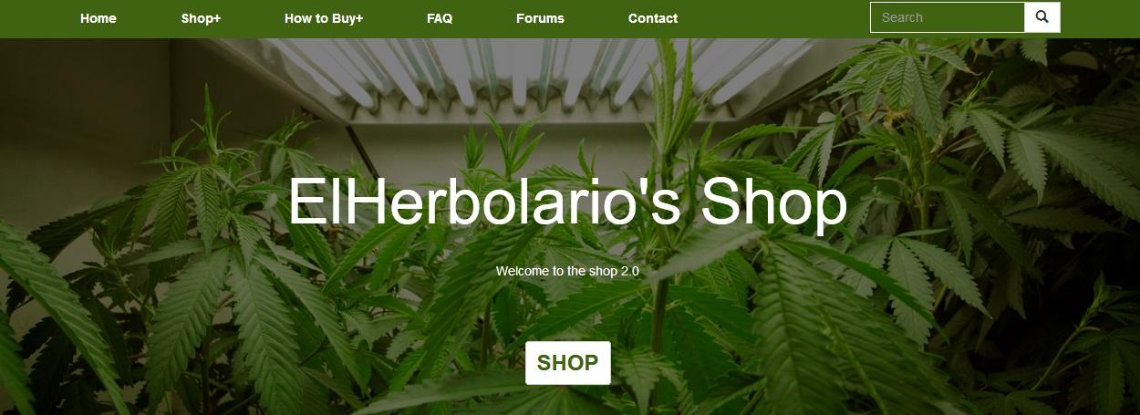 ElHerbolario homepage