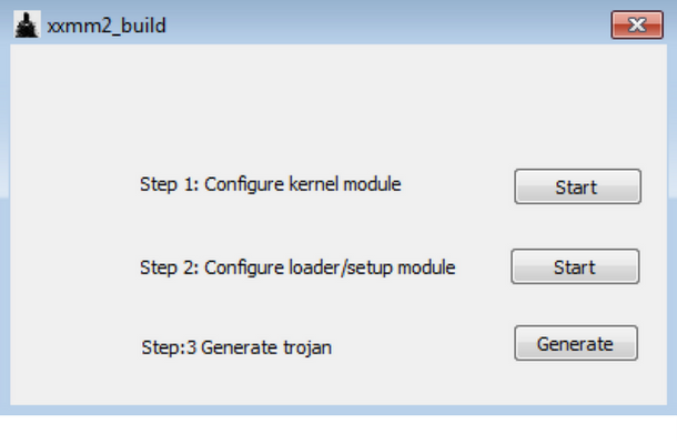 xxmm2_builder interface