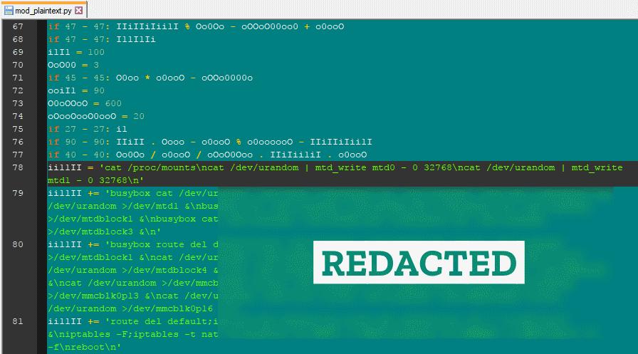 BrickerBot code