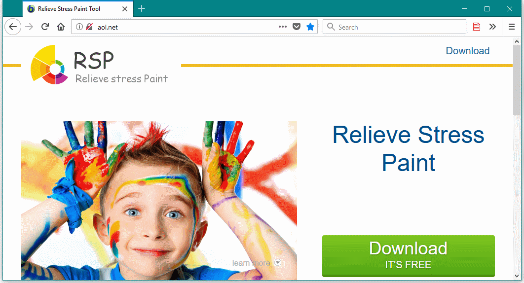 Stresspaint distribution website