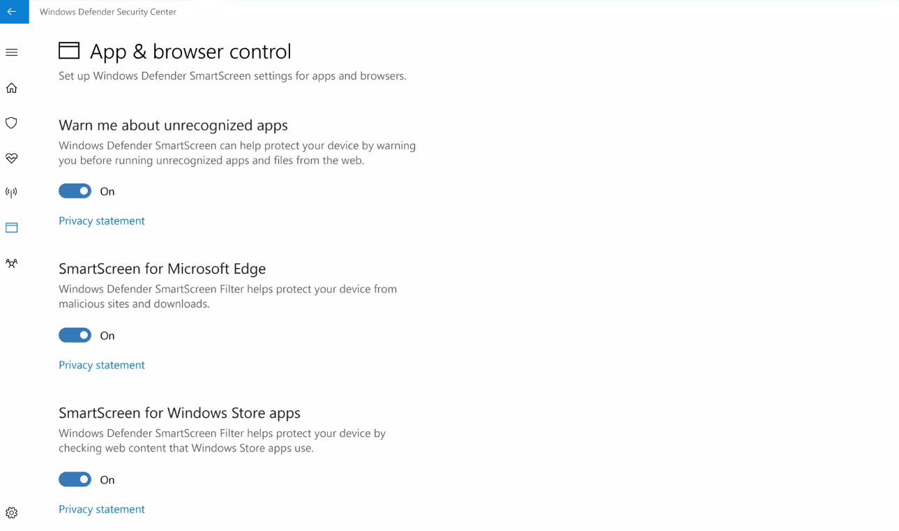 Microsoft Reveals Windows Defender Security Center Scheduled