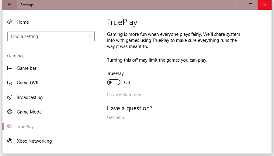 Microsoft Adds Game Anti-Cheat Engine to Windows 10