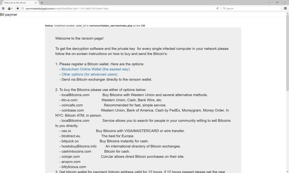 Bit Paymer Tor payment site