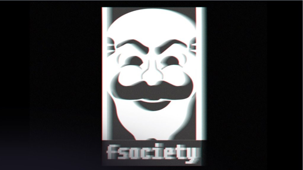 FSociety image, wallpaper