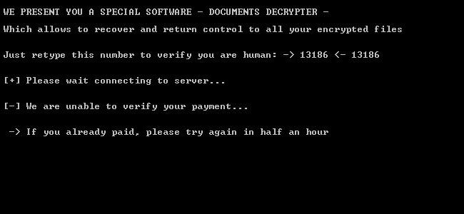 Marlboro decrypter, provided by malware author