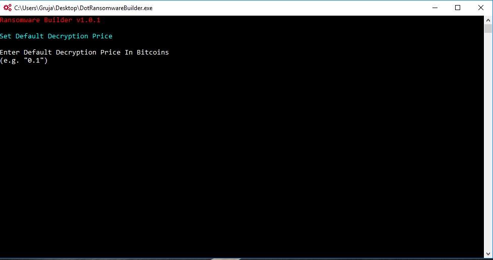 Dot-Ransomware builder