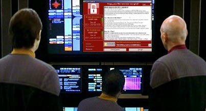 Photoshopped WannaCry ransom note