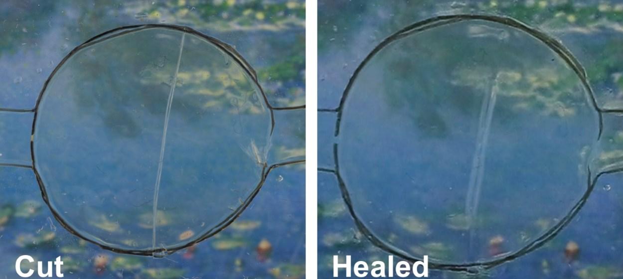 Self-healing material
