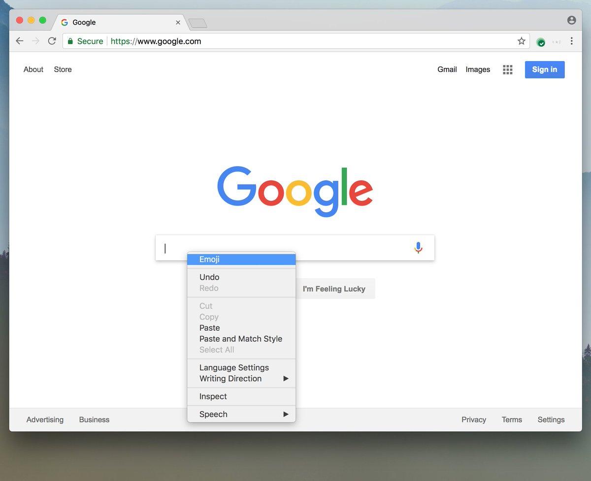 Chrome emoji support