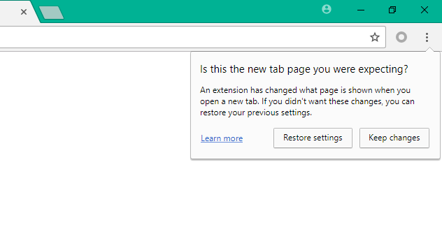 Chrome Adds Warning for When Extensions Take Over Your