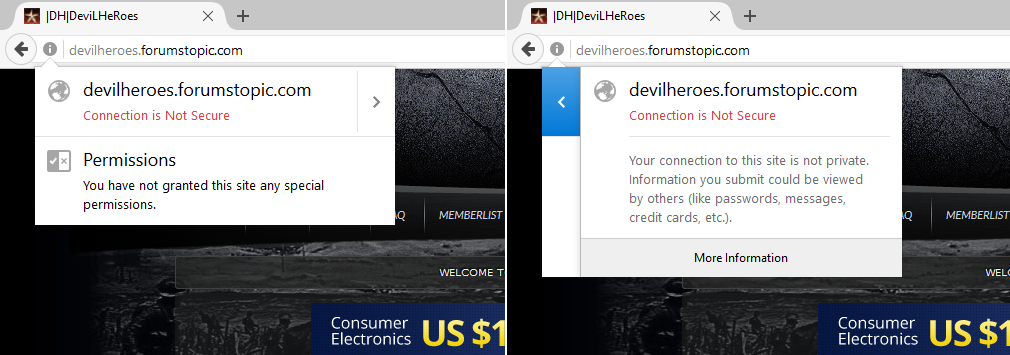 Current Firefox UI