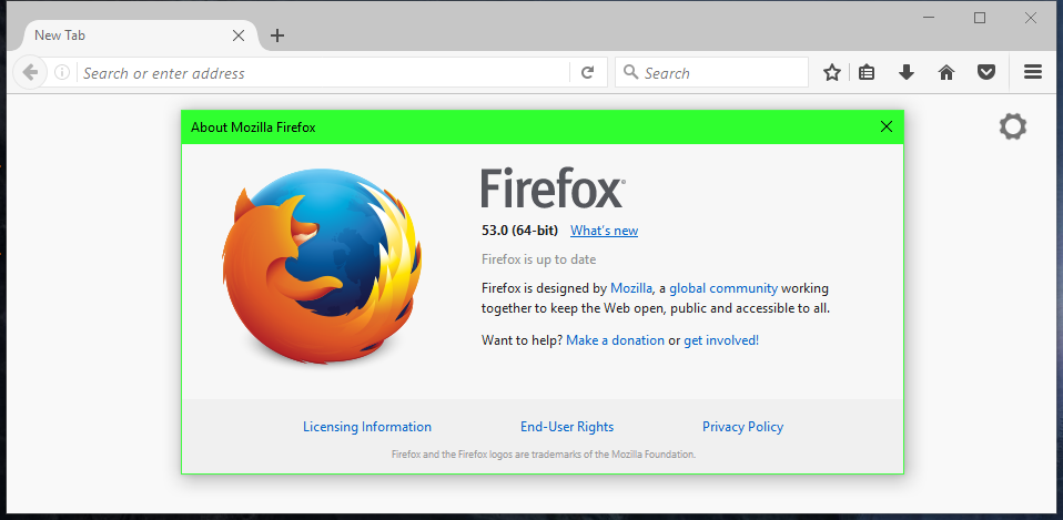 Firefox 53, Released Today, Drops Support for Windows XP and Vista
