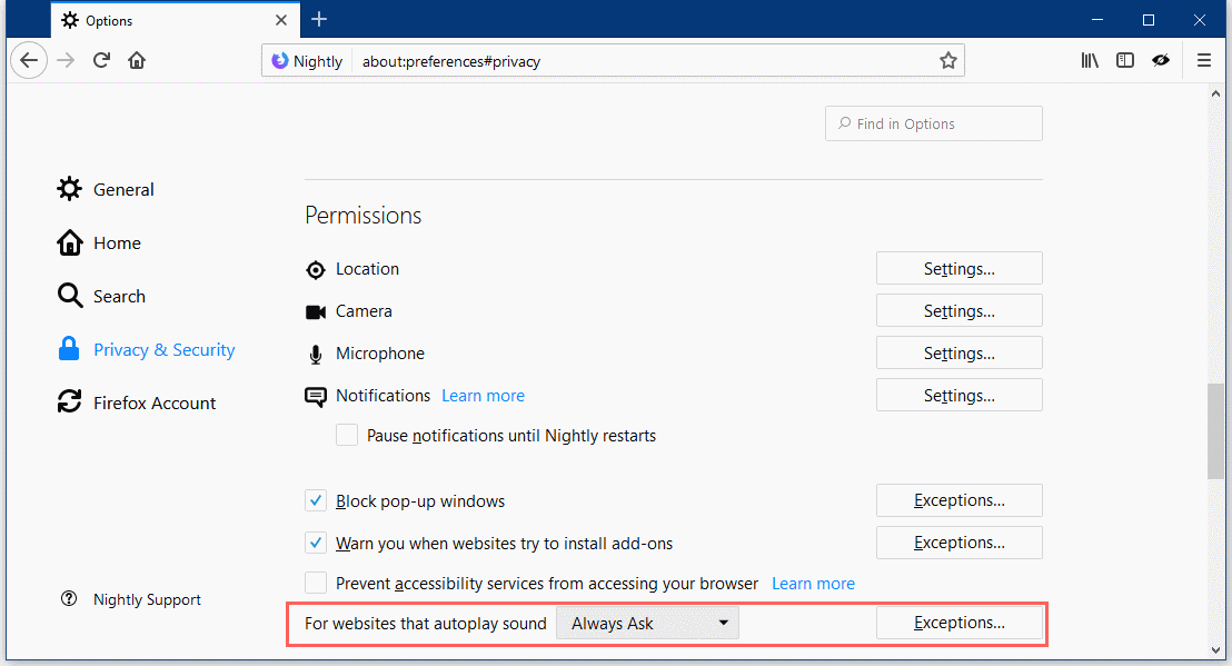 After Chrome & Edge, Firefox Also Gets Option to Mute Sites With
