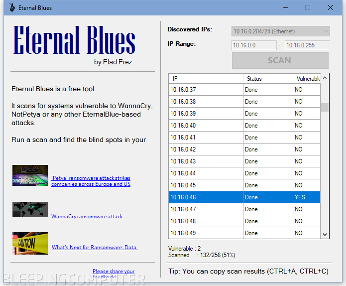 Eternal Blues tool
