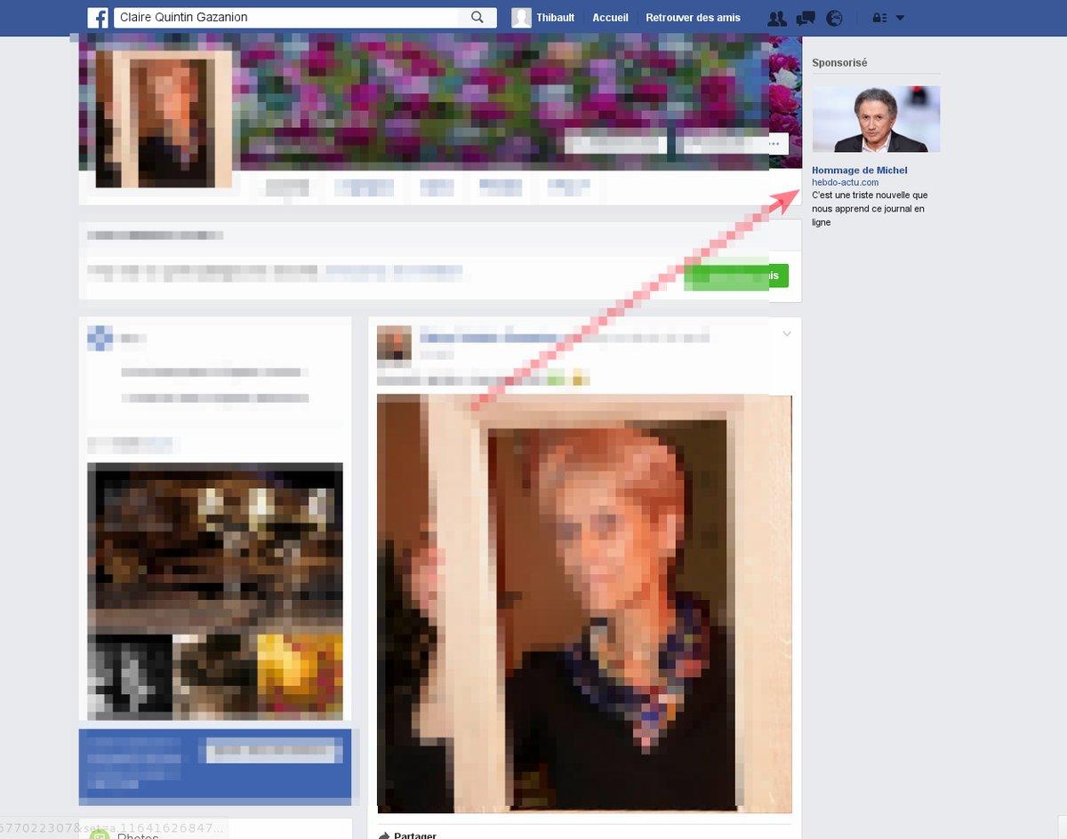 Malicious Facebook ad