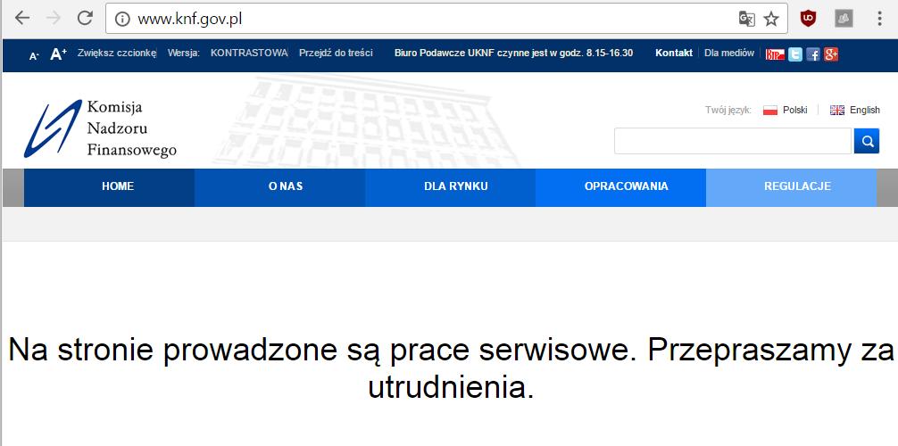 KNF website