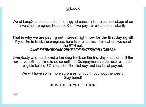 LoopX email