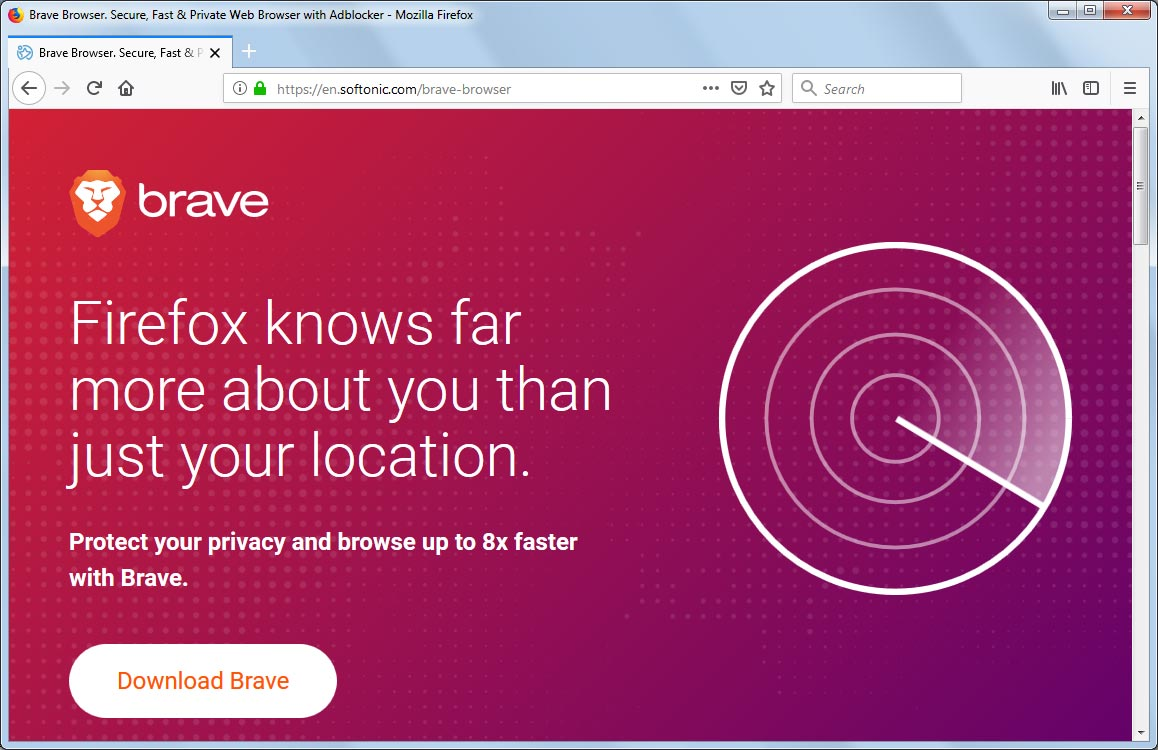 Brave Browser Taunts Chrome, Edge, and Firefox in New Privacy Ad