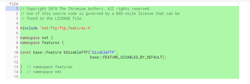 Disable FTP by default