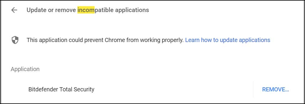 Bitdefender Disables Anti-Exploit Monitoring in Chrome After
