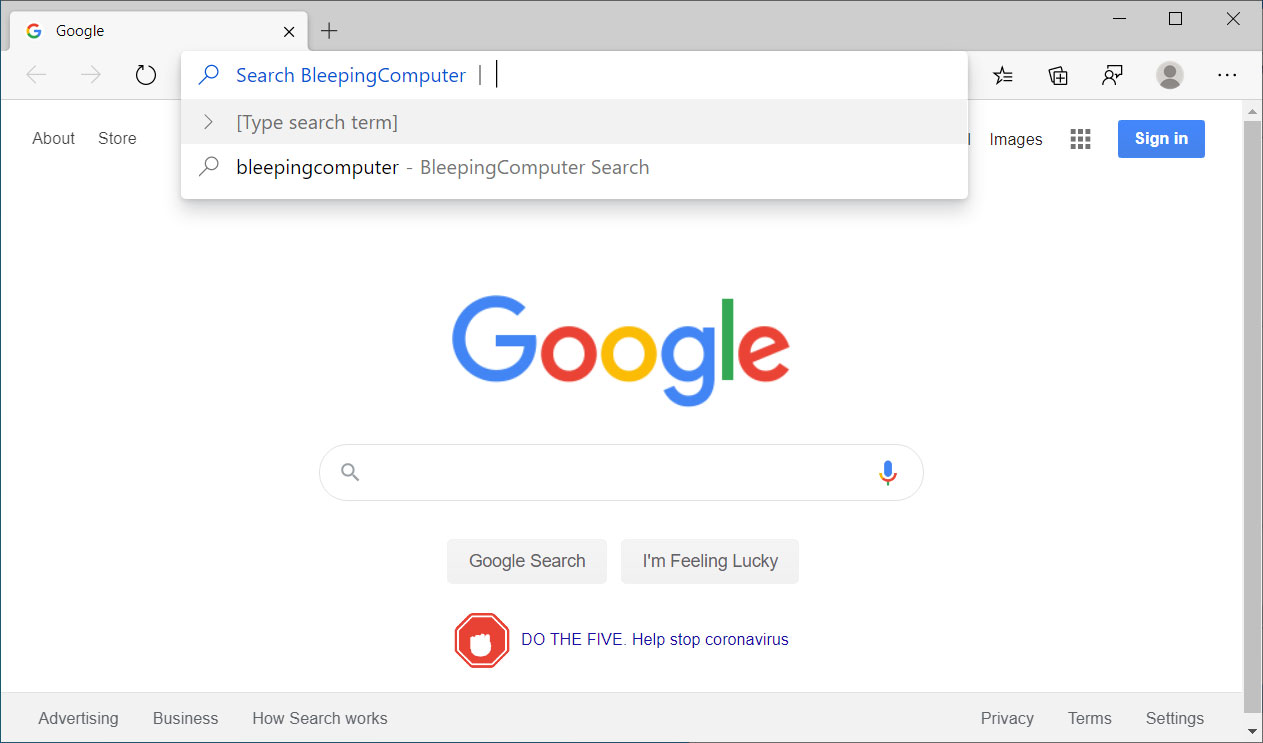 Search using Search Engine Keywords