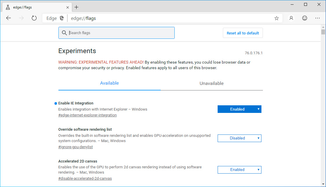 Internet Explorer Mode Now Works in Microsoft Edge Dev Builds